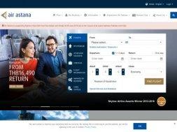 Интернет-магазин Air Astana