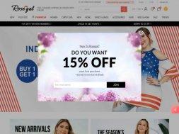 Интернет-магазин Rosegal
